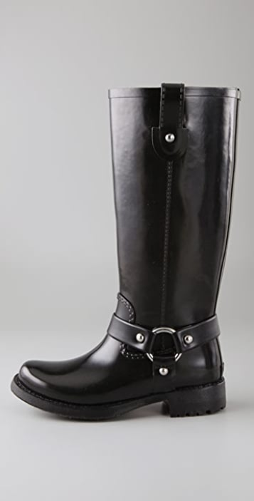 KORS Michael Kors Stormy Rubber Engineer Boots