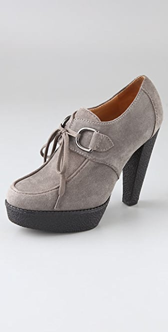KORS Michael Kors Dusty Wallabee Suede Booties