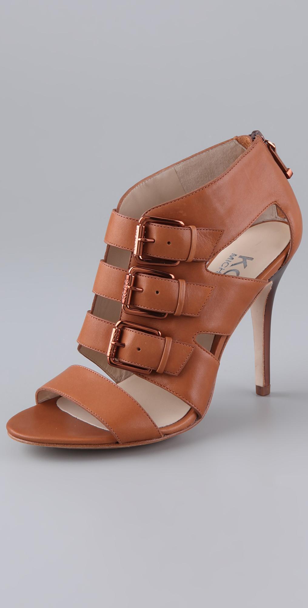 1be998ce068e7 KORS Michael Kors Sonoma High Heel Sandals