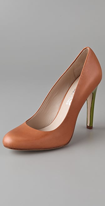 KORS Michael Kors Mirrored Heel Pumps