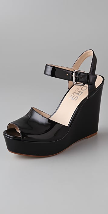 KORS Michael Kors Carmilla Platform Wedge Sandals