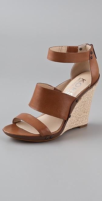 KORS Michael Kors Eliza Wedge Sandals