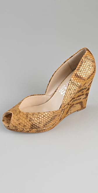 KORS Michael Kors Vail Open Toe Pumps