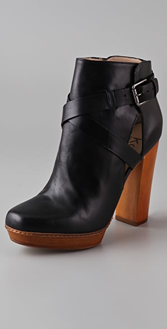 KORS Michael Kors Byford High Heel Booties