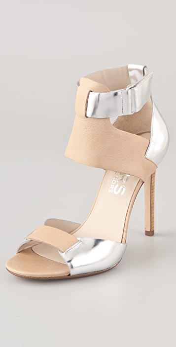 KORS Michael Kors Atherton Two Tone Sandals