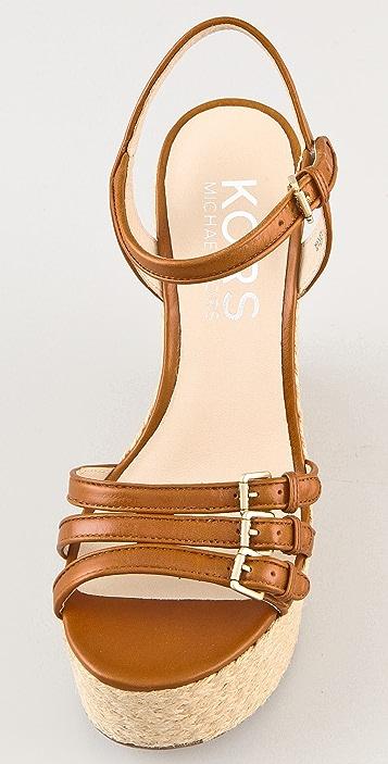 KORS Michael Kors Jacinda Wedge Sandals