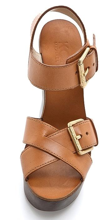 KORS Michael Kors Sahale Wedge Sandals