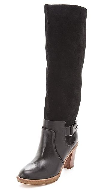 KORS Michael Kors Lela Two Tone Boots