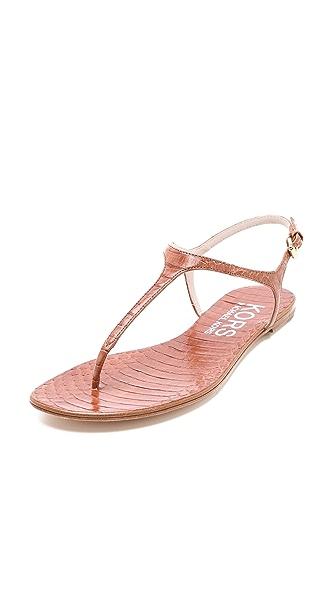 KORS Michael Kors Joni Snakeskin Sandals