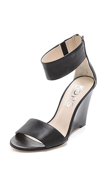 KORS Michael Kors Rosalie Wedge Sandals
