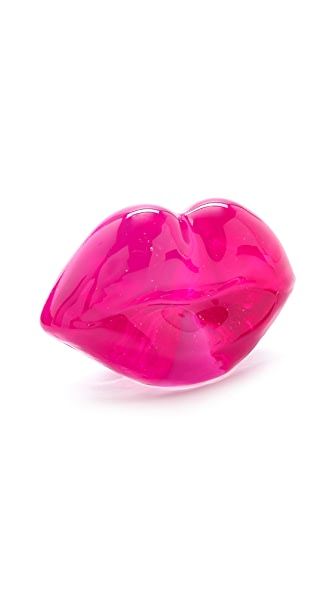 Kosta Boda Hot Lips Paperweight