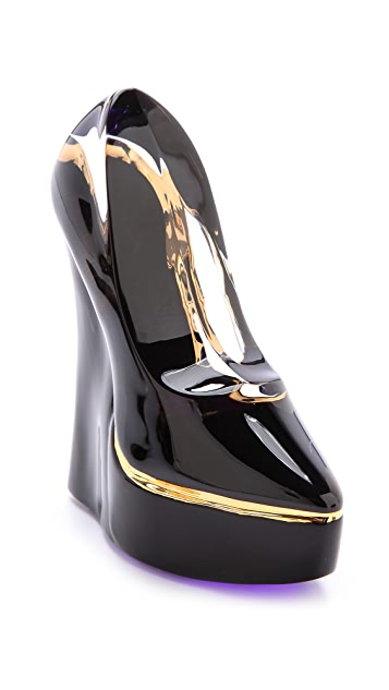 Kosta Boda Glass Shoe Paperweight