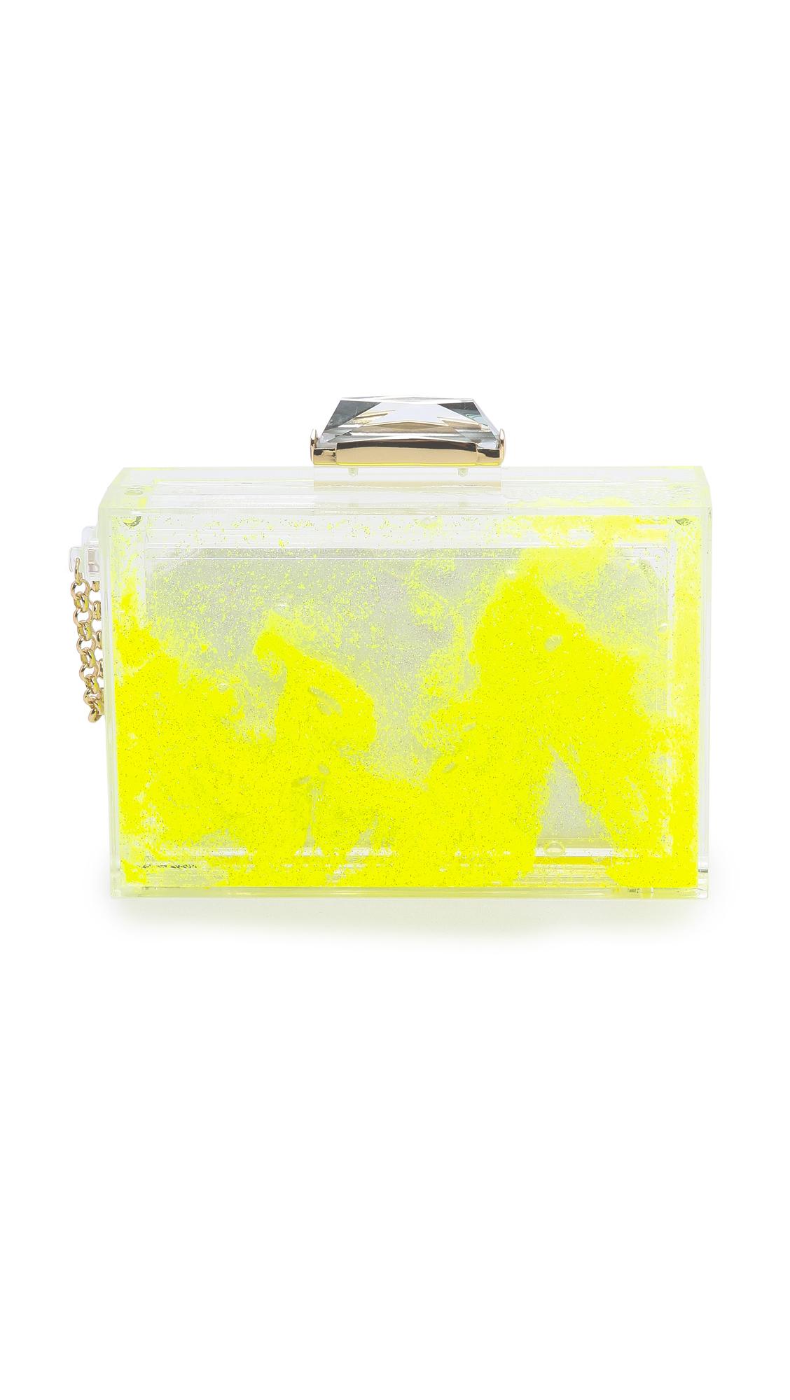 bfdc64422a8 Kotur Fluorescent Glitter Globe Clutch | SHOPBOP
