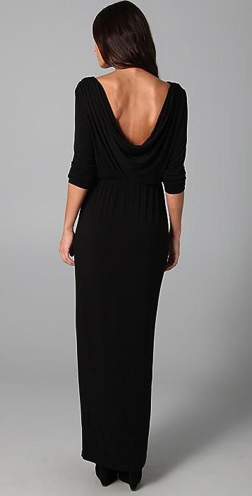Kova & T Sexy Back Maxi Dress