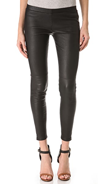 Kova & T Vine Leather Leggings