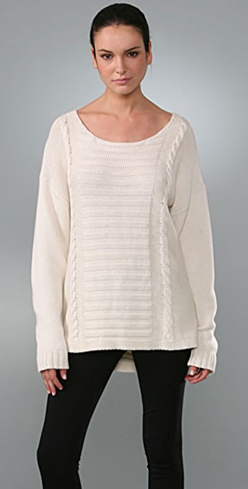 Kimberly Ovitz Tinsley Ripped Sweater