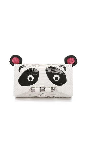Kara Ross Panda Clutch