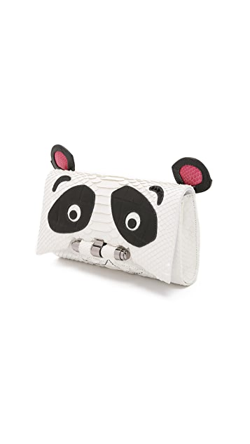 Kara Ross Panda Clutch