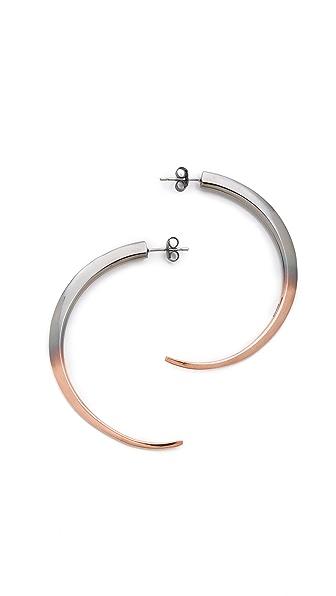 Katie Rowland Talon Hoop Earrings