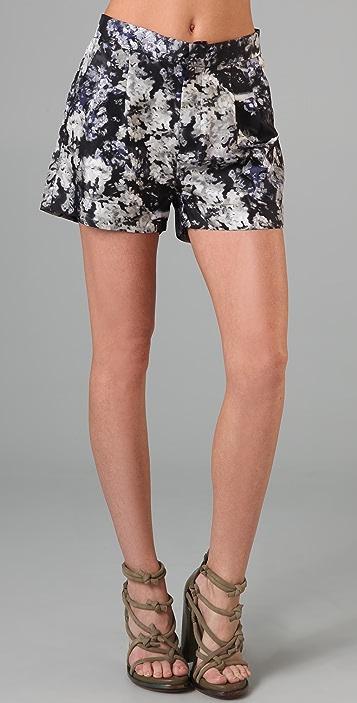 Ksubi Cam Floral Shorts