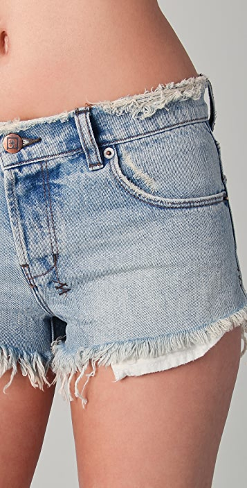 Ksubi Alberceque Cutoff Shorts