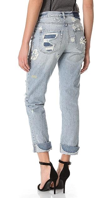 Ksubi Boyfriend Jeans
