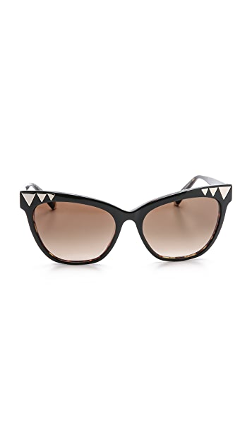 Kate Young for Tura Triangle Sunglasses