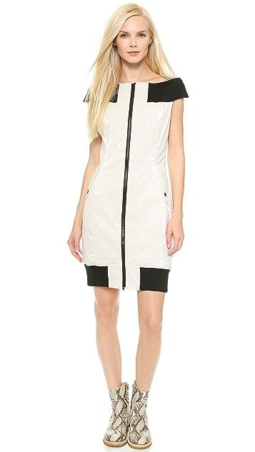 KTZ Drop Sleeve Body Con Dress