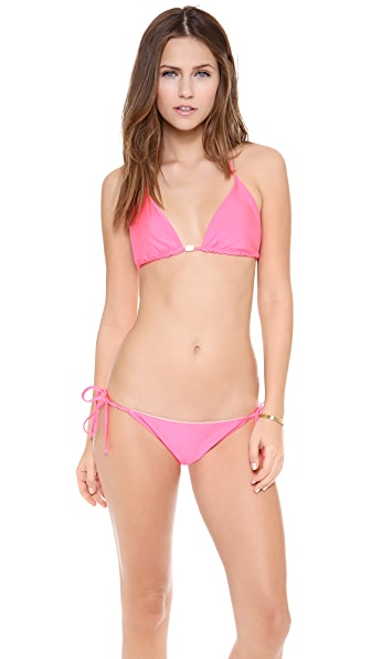 Kushcush Olivia Reversible Bikini Top