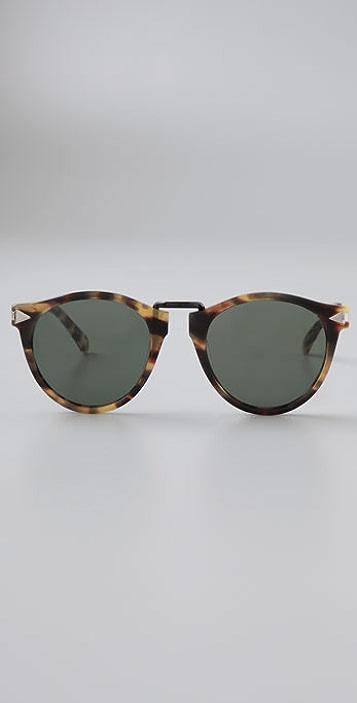 Karen Walker Helter Skelter Sunglasses