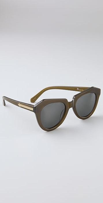Karen Walker Number One Sunglasses
