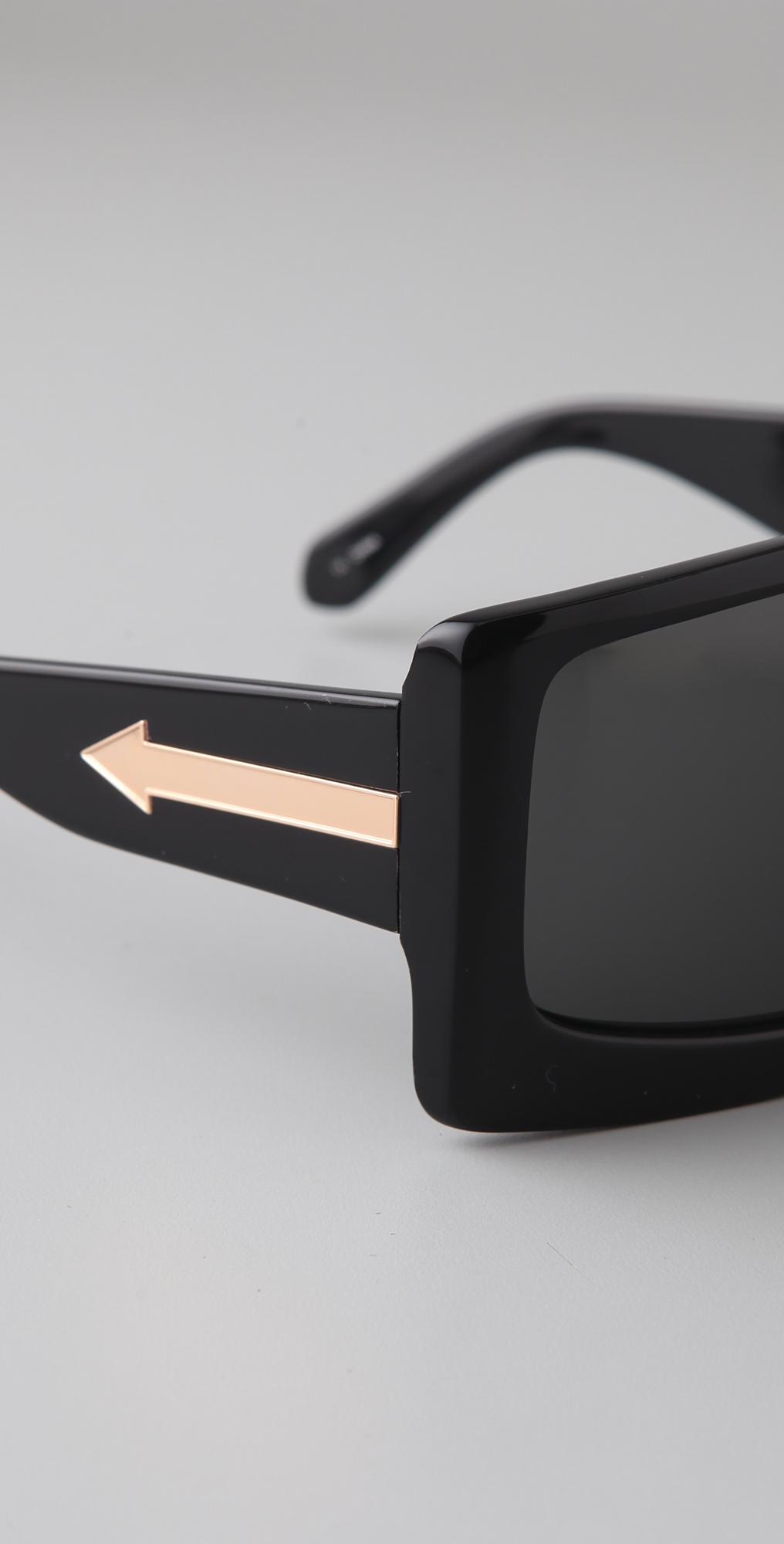 ff9a74a4a1e6 Karen Walker The Butler Sunglasses