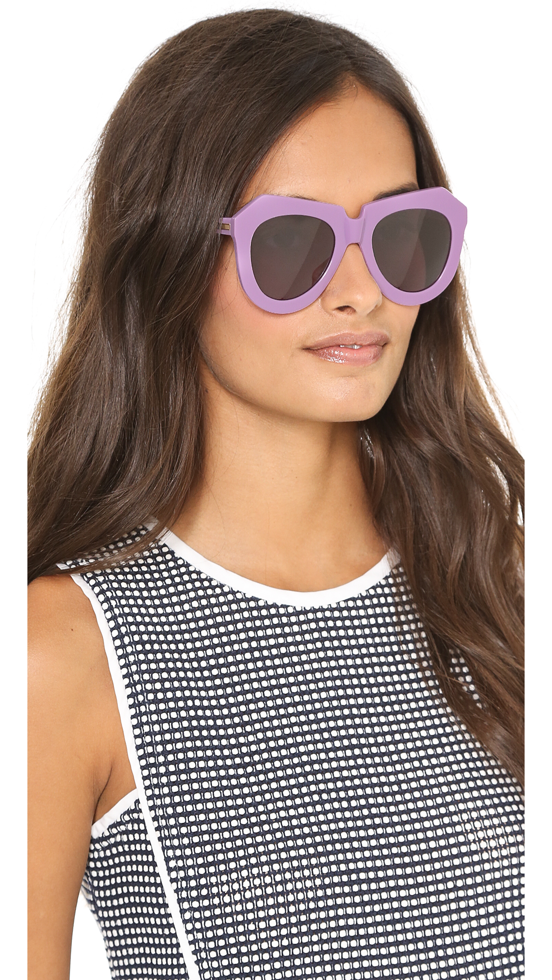 add020dd7eab Karen Walker One Worship Sunglasses | SHOPBOP
