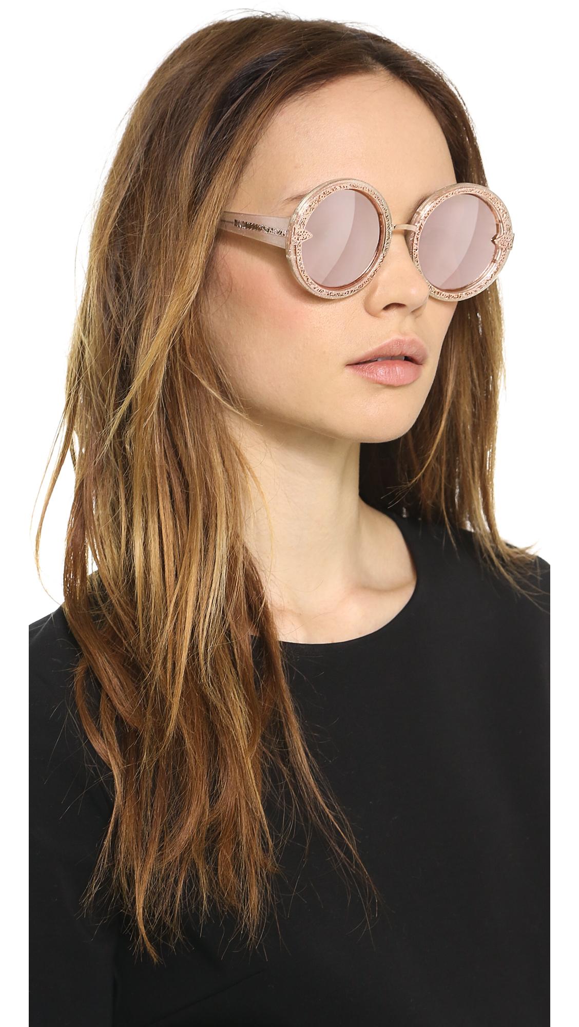 be8966a0d7 Karen Walker Orbit Filigree Sunglasses   SHOPBOP