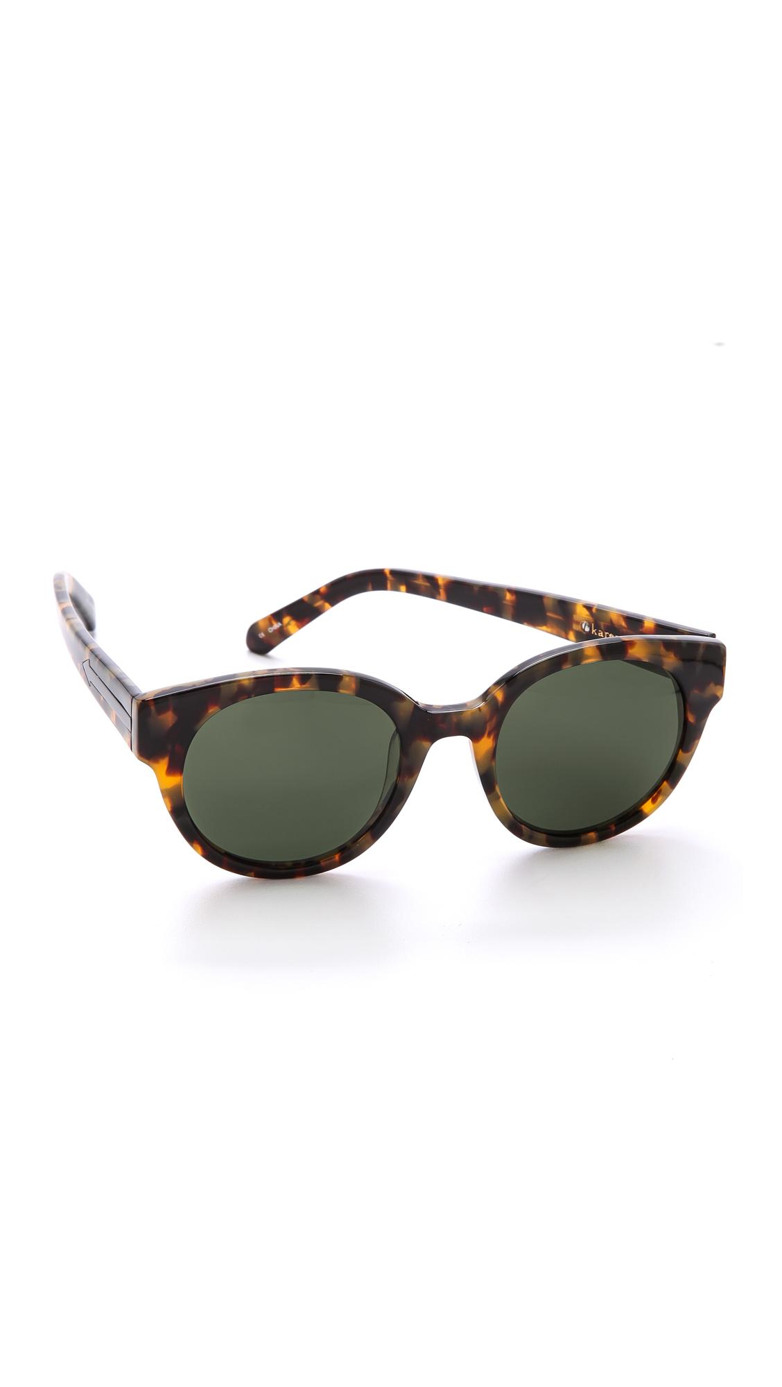 0b9ff25c1c5 Karen Walker Anywhere Sunglasses