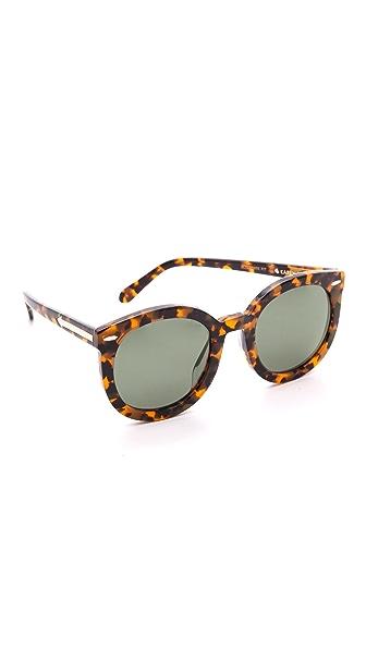 Karen Walker Солнцезащитные очки Super Duper Strength
