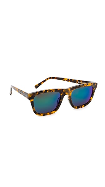 Karen Walker Superstars Collection Deep Freeze Mirrored Sunglasses