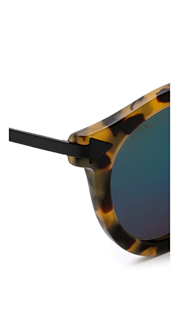 Karen Walker Superstars Collection Harvest Mirrored Sunglasses