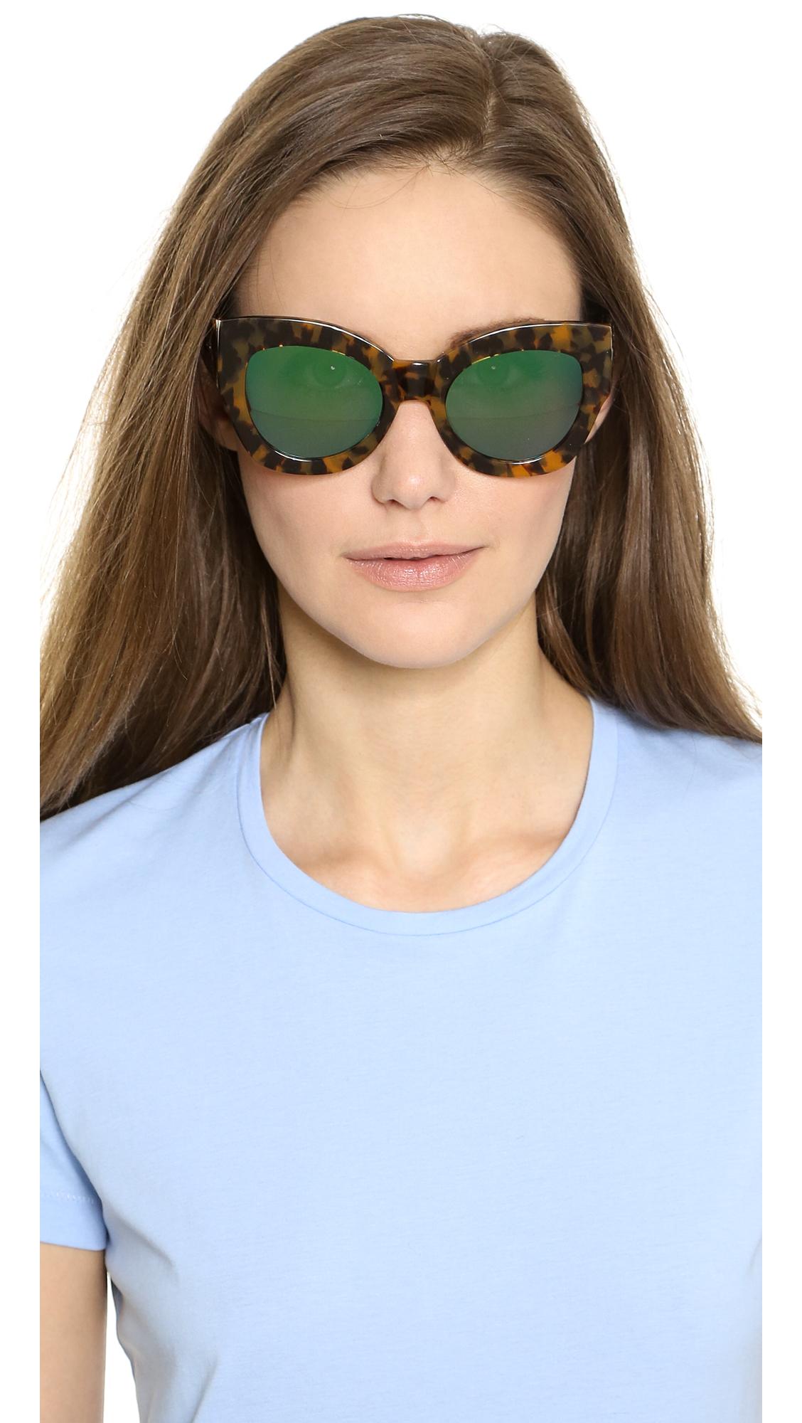 1a34ec8751 Karen Walker Superstars Collection Northern Lights Mirrored Sunglasses    SHOPBOP