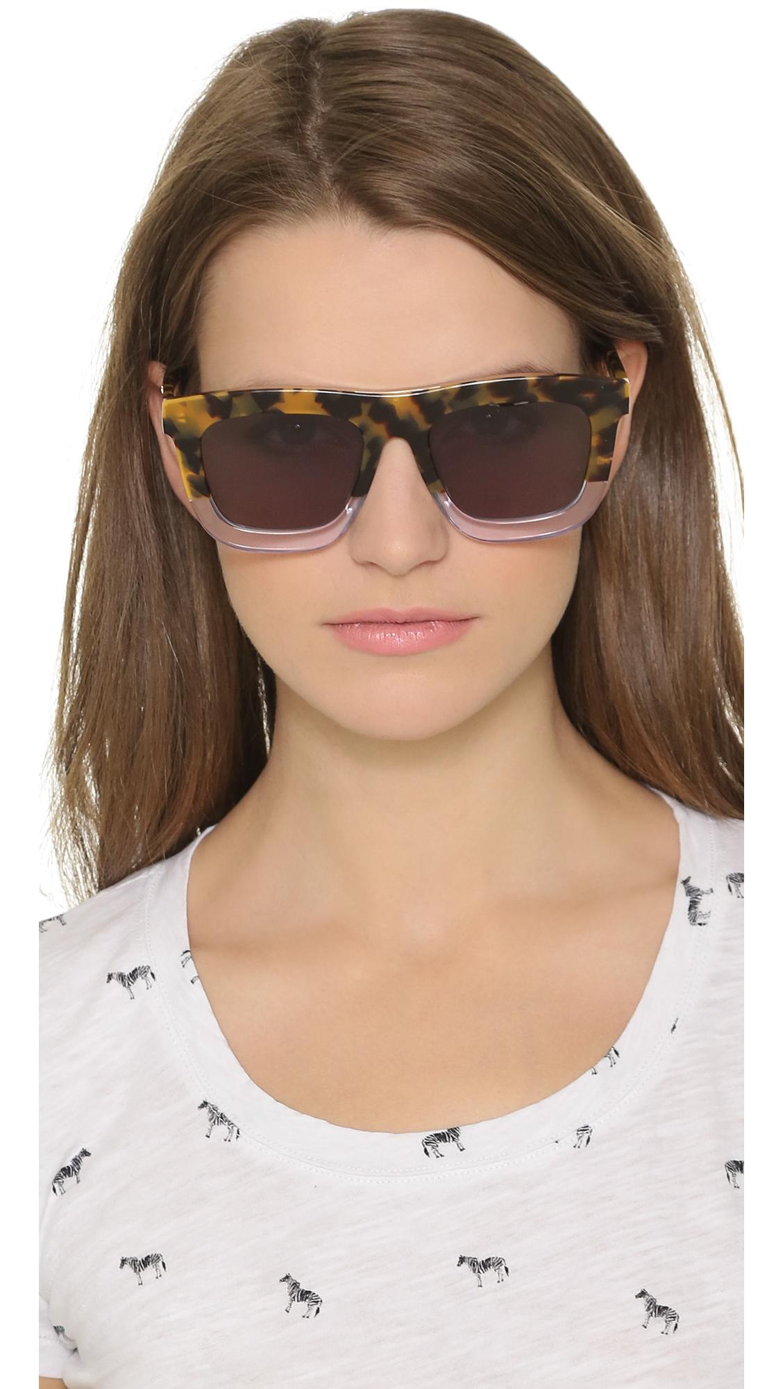 1c95e455c9c Karen Walker Deep Orchard Sunglasses