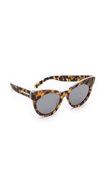 Karen Walker Starburst Sunglasses