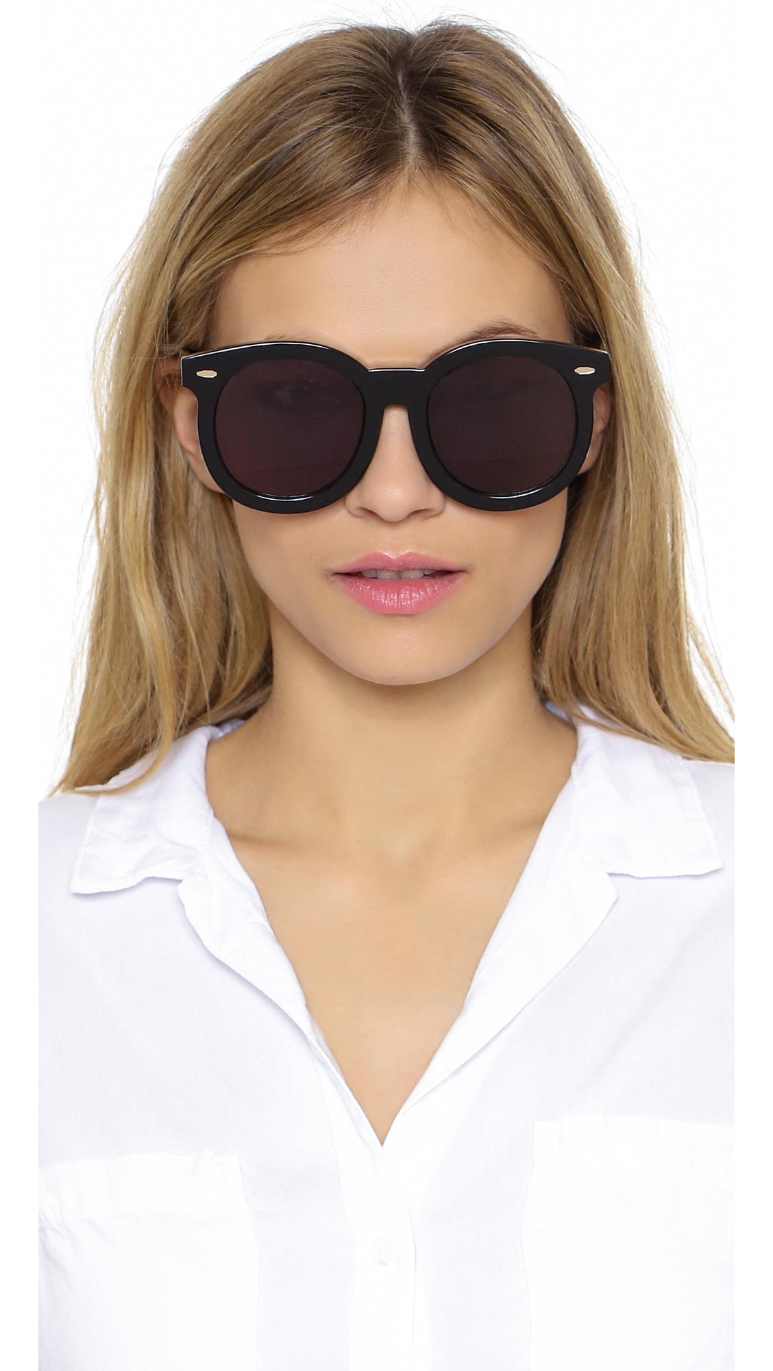 2bea0063f124 Karen Walker Super Duper Thistle Sunglasses