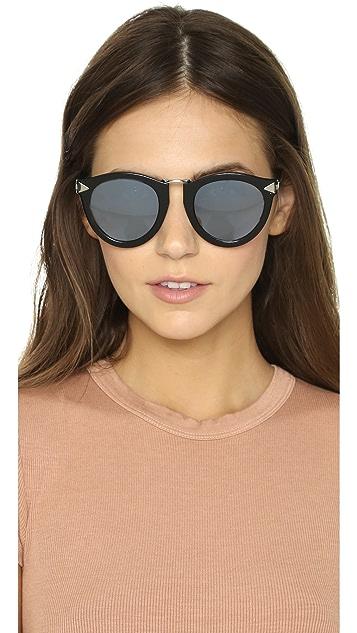 Karen Walker Superstars Harvest Sunglasses