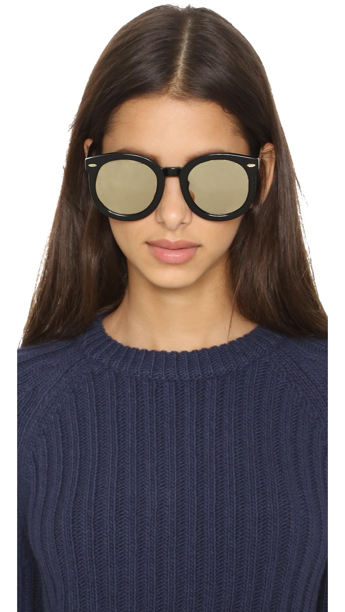 fd763eaab9c Karen Walker Superstars Super Duper Strength Sunglasses