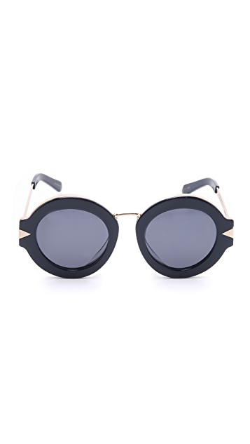 Karen Walker Special Fit Maze Sunglasses