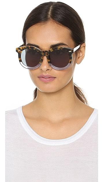 Karen Walker Special Fit Super Duper Thistle Sunglasses