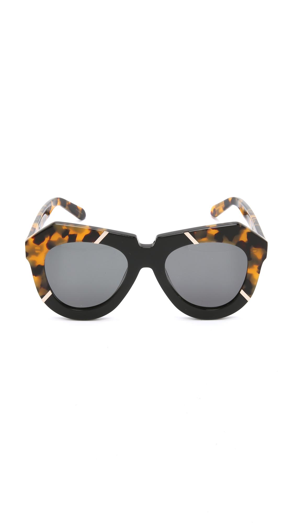 7667e085c3d Karen Walker One Splash Sunglasses