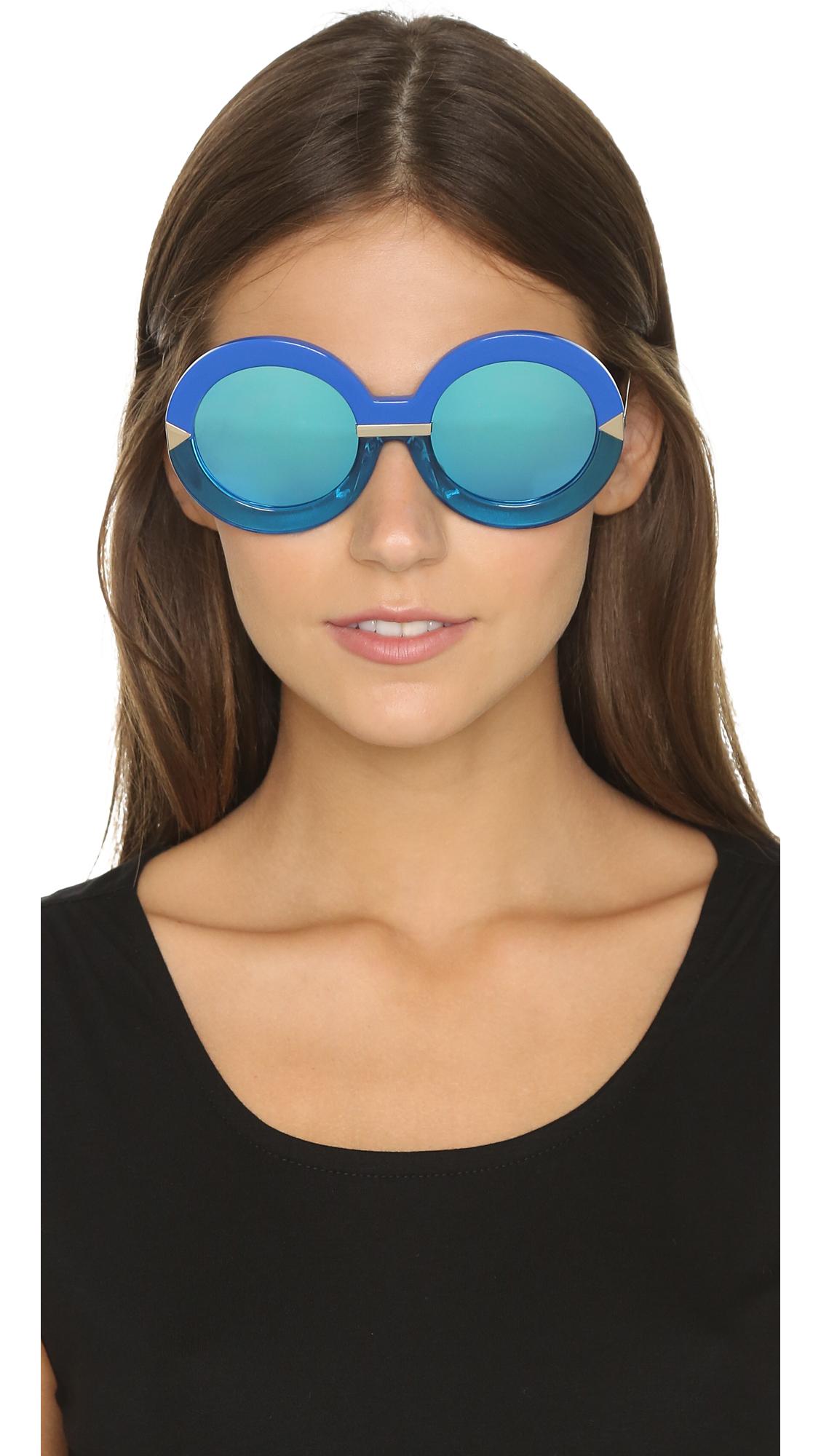 172f0f1bc0317 Karen Walker Hollywood Pool Sunglasses