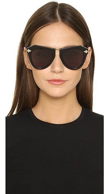 Karen Walker One Orbit Sunglasses