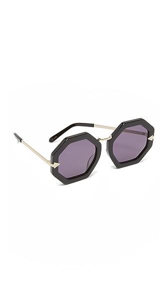 Karen Walker Moon Disco Sunglasses